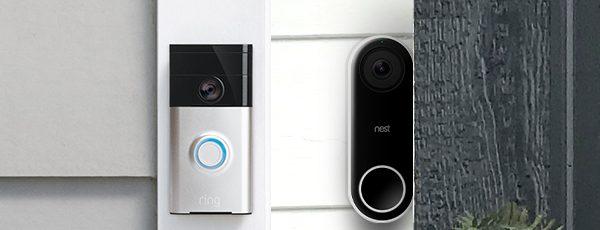 Nest and Ring Doorbells